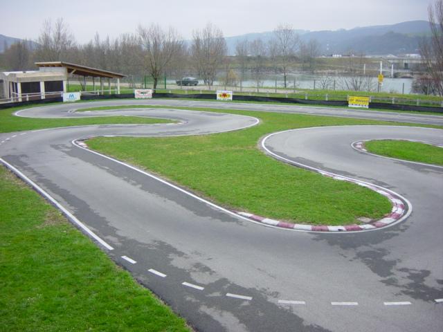 La piste ... développe 306 métres !